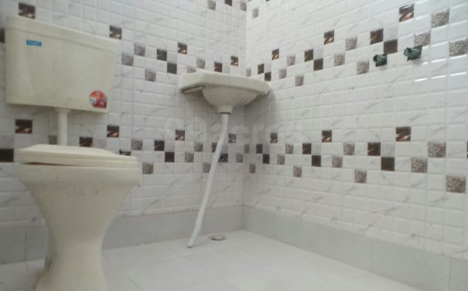 Chandra Towers Flat toilet